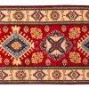 Tappeto Passatoia Afgano Uzbek 299x74cm visione dall'alto