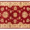 Tappeto Afgano Passatoia Chobi 293x79cm visione dall'alto