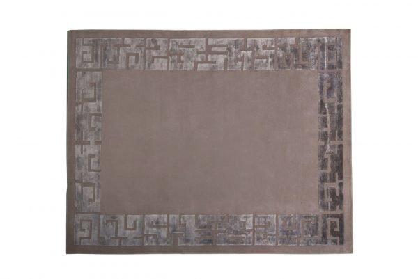 Tappeto Nepal Azteco cm 194x153cm visione dall'alto