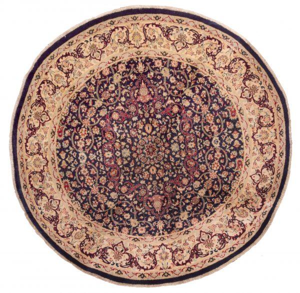 Tappeto Pakistan Persian 186x183cm colorazione blu visione frontale