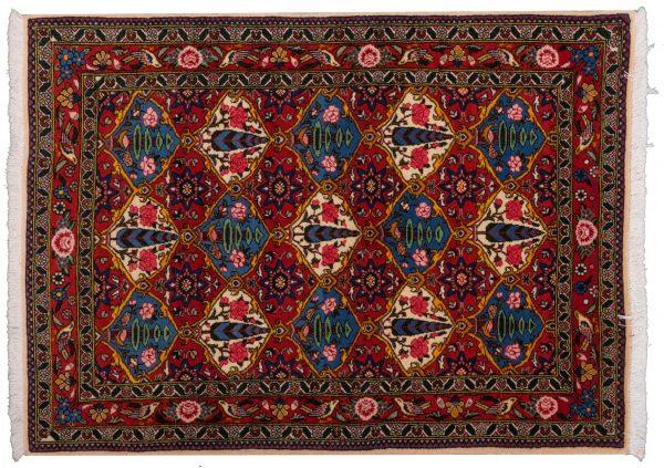 Tappeto Persiano Baktiari 146x106cm visione dall'alto
