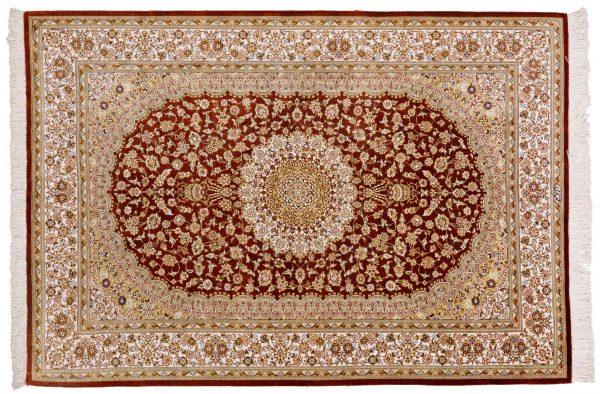 Tappeto-Persiano-Kum-Seta-150x100-cm-Alto