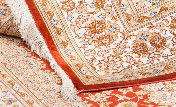 Tappeto-Persiano-Kum-Seta-150x100-cm-Dettaglio