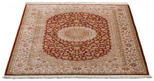 Tappeto-Persiano-Kum-Seta-150x100-cm-Prospettiva