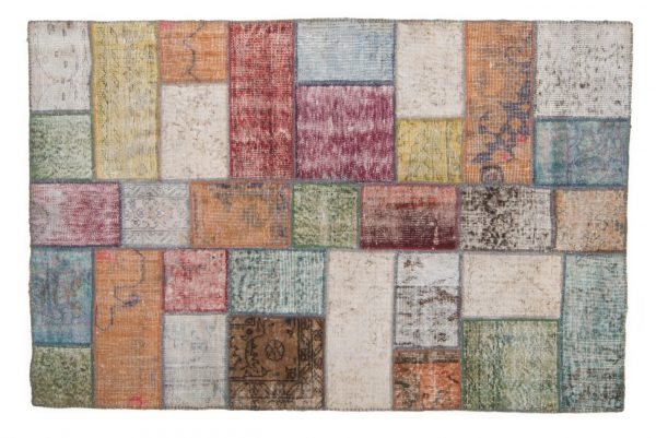 Tappeto Anatolico Patchwork 180x117 visione frontale