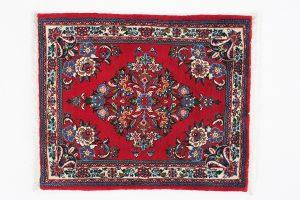 Tappeto Persiano Saruk. 80X66 visione dall'alto