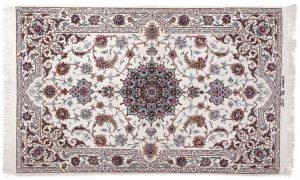 Tappeto Persiano Isfahan 158X100cm visione dall'alto