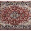 Esfahan - Tappeto Persiano 160X104cm. visione dall'alto