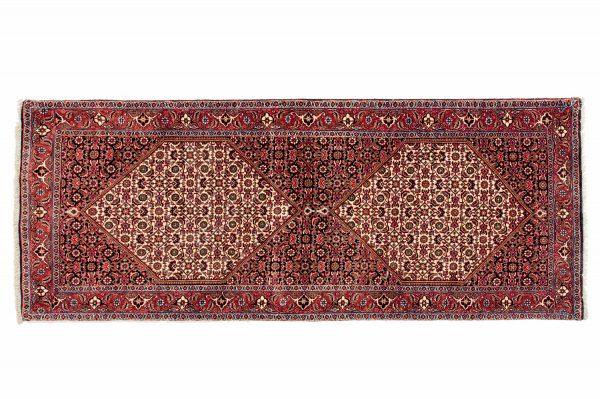 Tappeto Persiano Bijar.211X81 visione dall'alto