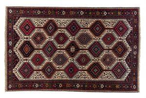Tappeto Persiano Yalameh. 300X200 visione dall'alto
