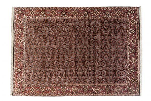 Tappeto Persiano Bijar. 285X200 visione dall'alto