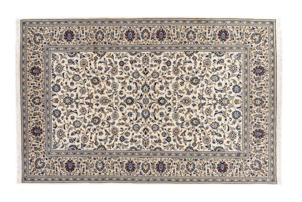 Tappeto Persiano Yazd. 310X199 visione dall'alto