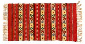 Tappeto Persiano Kilim 115X68cm visione dall'alto