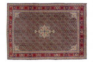 Tappeto Persiano Senneh. 360X260 visione dall'alto