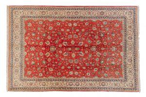 Tappeto Persiano Saruk. 415X295 visione dall'alto
