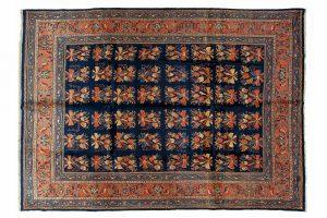 Tappeto Persiano Saruk. 344x260 visione dall'alto