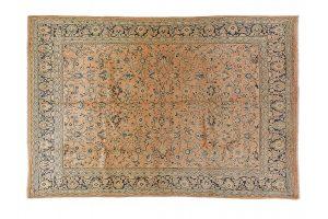 Tappeto Persiano Saruk. 370X274 visione dall'alto
