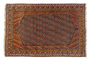 Tappeto Persiano Asfhar. 320x210 visione dall'alto