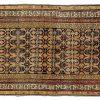 Tappeto Caucasico Karabag. 340x124 visione dall'alto