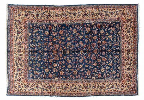 Tappeto Persiano Birjan. 342x250 visione dall'alto
