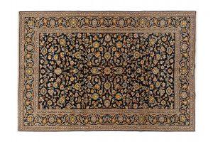 Tappeto Persiano Kashan. 338x232 visione dall'alto
