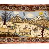 Tappeto Persiano Saruk. 105X62 visione dall'alto