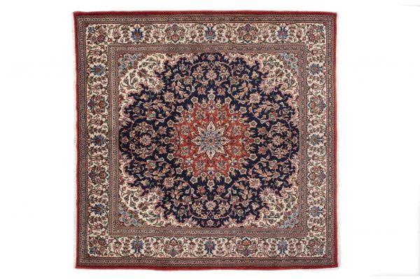 Tappeto Persiano Kum Kurk. 220X210 visione dall'alto