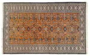 Tappeto Persiano Ardebil. 260x170 visione dall'alto