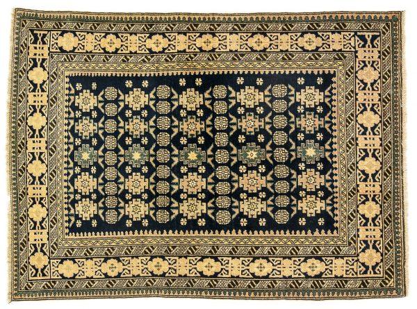 Tappeto Caucasico Shirwan. 150X106 visione dall'alto