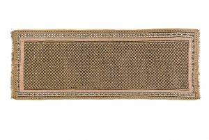 Tappeto Persiano Kilim. 343X130 visione dall'alto