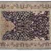 Esfahan - Tappeto Persiano 154X110 visione dall'alto
