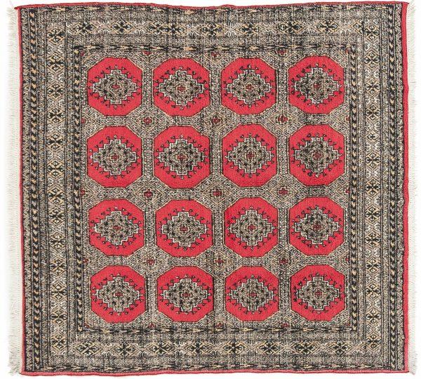 Tappeto Kashmir 183 x 180 visione dall'alto