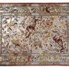 Tappeto Kum Seta Antico. 218 x 137 visione dall'alto