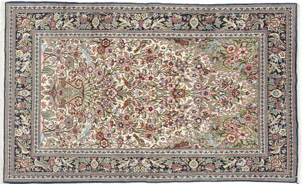 Tappeto Persiano Kum 240 x 150 visione dall'alto