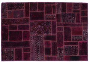 Anteprima Tappeto Afgano Patchwork 155 x 104 motivo geometrico