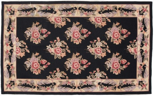 Tappeto Cinese Needlepoint 149 x 91 visione dall'alto
