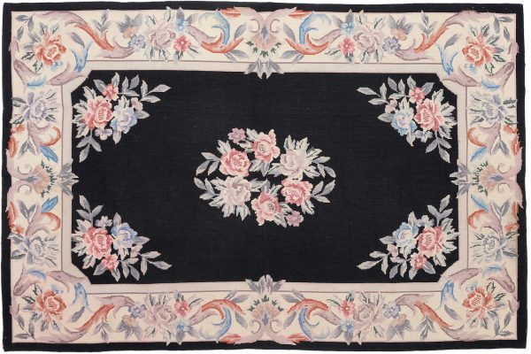 Tappeto Cinese Needlepoint 178 x 118cm visione dall'alto