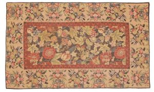 Tappeto Cinese Needlepoint 138 x 83cm visione dall'alto