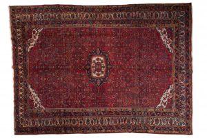 Tappeto Persiano Hamadan 418 x 298 visione dall'alto