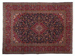 Tappeto Persiano Kashan 345 x 255 visione dall'alto