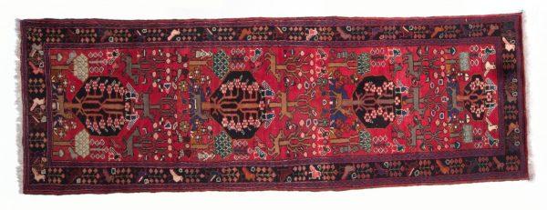 Tappeto Persiano Hamadan 315 x 107 visione dall'alto