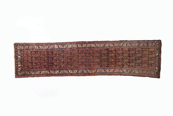 Tappeto Persiano Malyer Antico 410 x 97 visione dall'alto