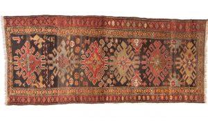 Tappeto Kurdo 220 x 92 visione dall'alto
