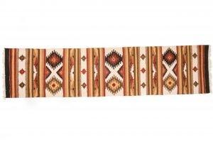 Tappeto Indiano Kilim 430 x 75 visione dall'alto