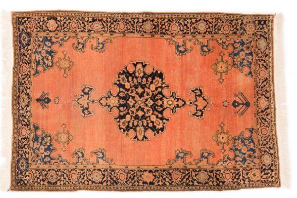 Tappeto Persiano Sarouk Antico 154 x 105 visione dall'alto