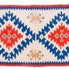 Tappeto Kilim Orientale 145 x 80cm visione dall'alto