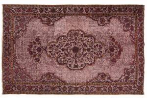 Tappeto Anatolico Vintage 288 x 184cm visione dall'alto