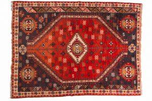 Tappeto Persiano Shiraz 260 x 200 visione dall'alto
