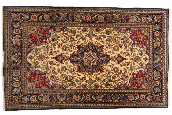 Tappeto Persiano Kum 250 x 154 visione dall'alto