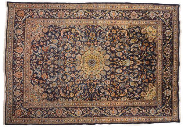 Tappeto Persiano Kashan 365 x 250 visione dall'alto